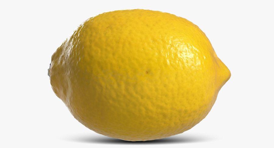 Lemon Fruit royalty-free 3d model - Preview no. 4
