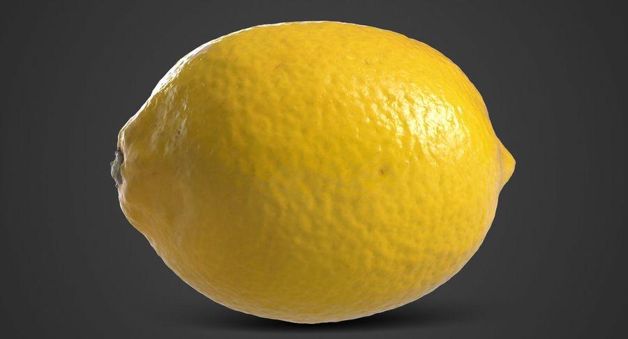 Lemon Fruit royalty-free 3d model - Preview no. 3