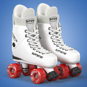 Roller Skates Supreme Turbo 3d model