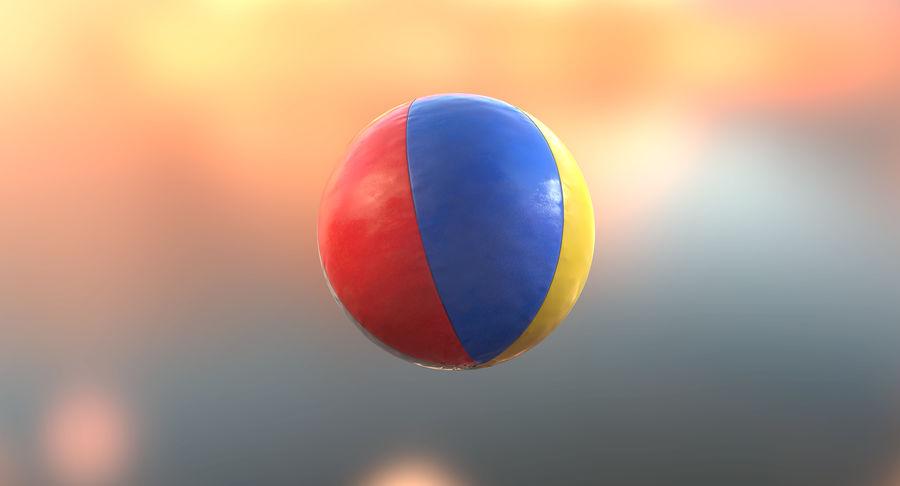沙滩球 royalty-free 3d model - Preview no. 7