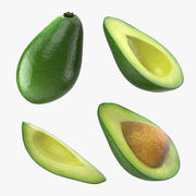 Avocado Collection 3d model