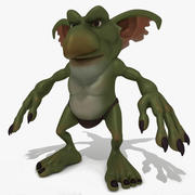 Cartoon Fantasy Monster 3d model