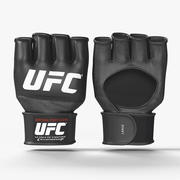 Gants de combat officiels UFC 3d model