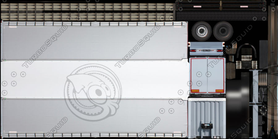 Scania S 730 2016 cargo box royalty-free 3d model - Preview no. 15