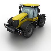 JCB Fastrac 3220 2005 Tractor 3d model