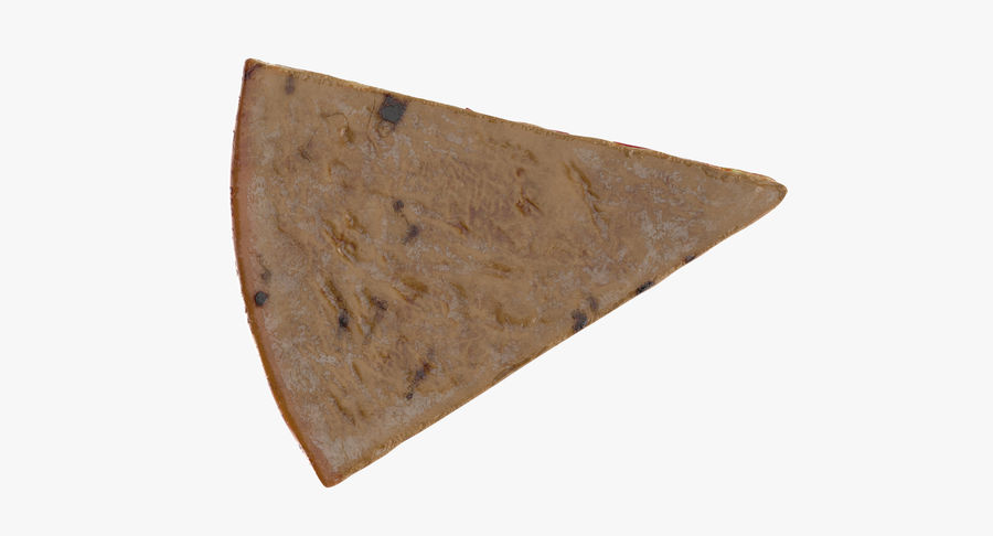 PIzza Slice Pepperoni royalty-free 3d model - Preview no. 9
