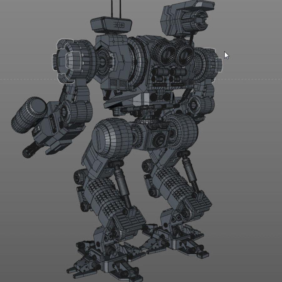 Guerra do robô royalty-free 3d model - Preview no. 12