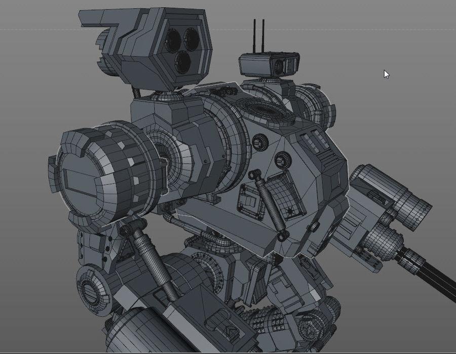 Guerra do robô royalty-free 3d model - Preview no. 13