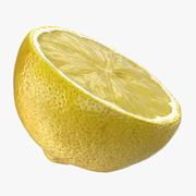 Lemon Half 3d model