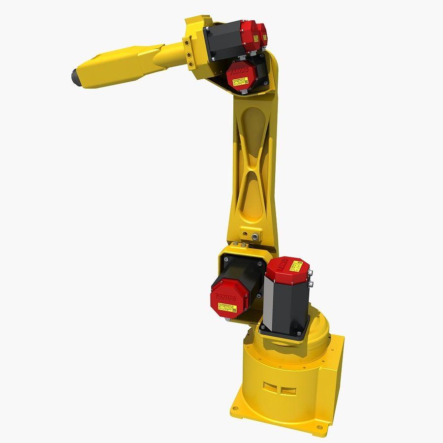FANUC 100 Industrial Robot 3D Model $49 -  max  fbx - Free3D