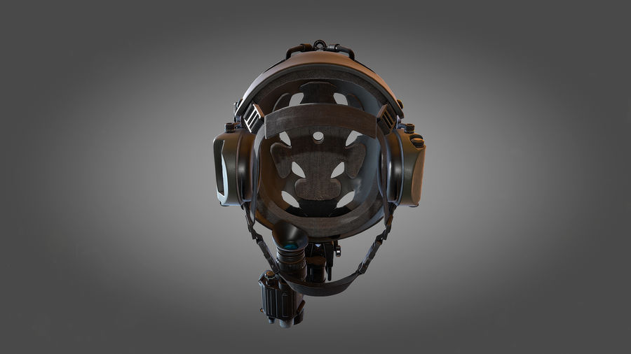 Helmet royalty-free 3d model - Preview no. 8