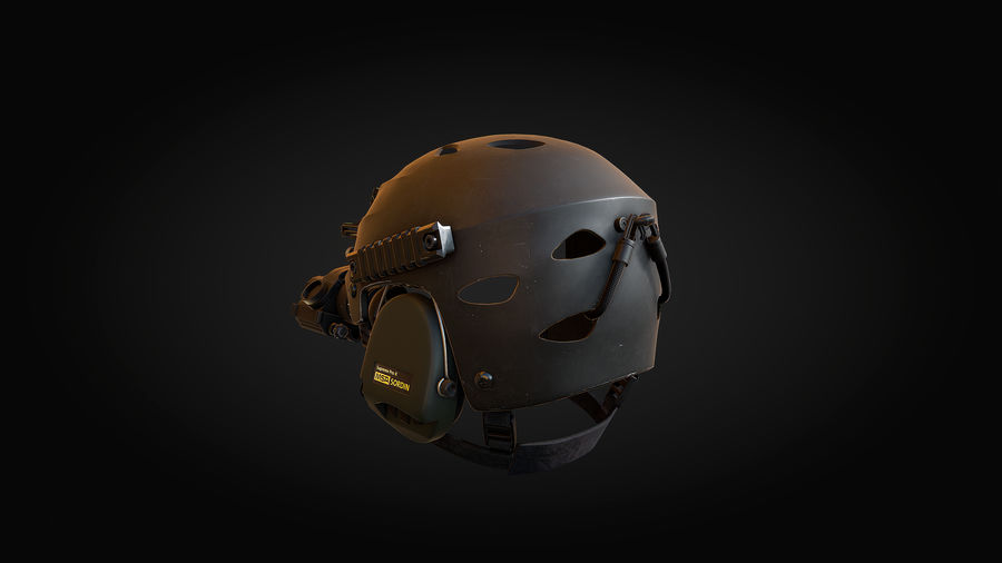 Helmet royalty-free 3d model - Preview no. 4