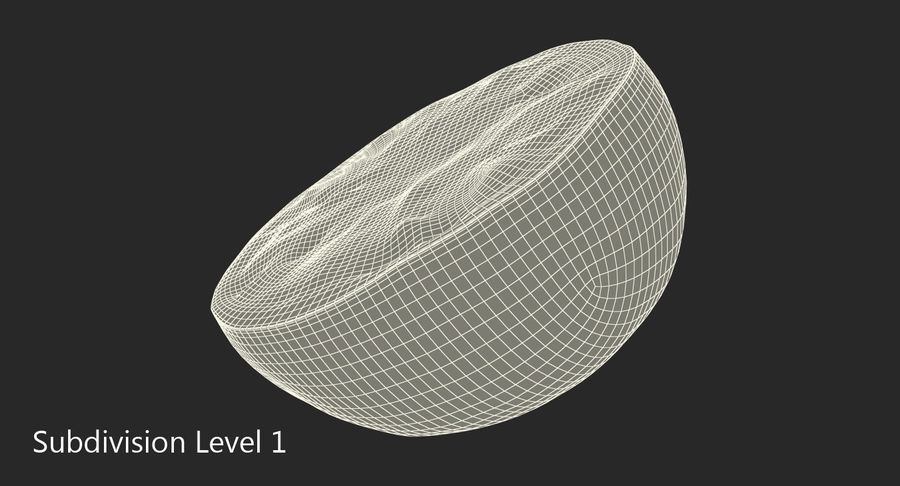 Mezza Calce royalty-free 3d model - Preview no. 9