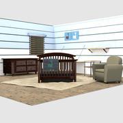 Nursery Set 3d model