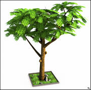 Spring Tree V2 3d model