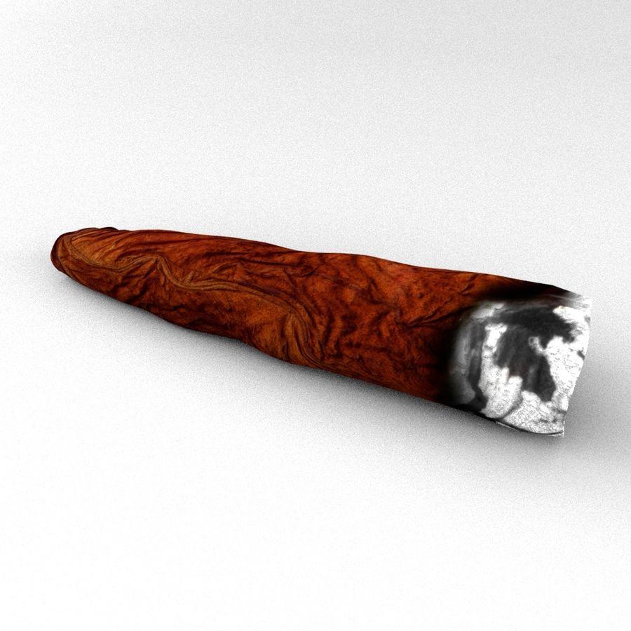 Cigar Blunt royalty-free 3d model - Preview no. 2