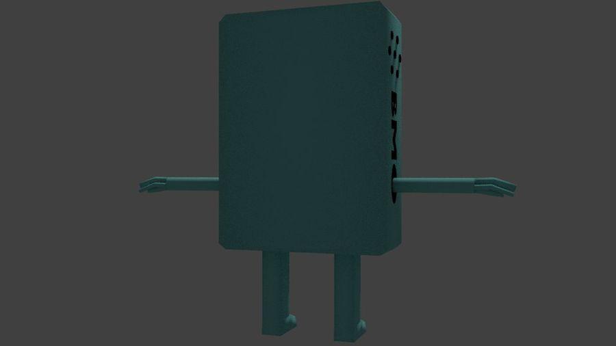 Pora na przygodę - BMO royalty-free 3d model - Preview no. 3