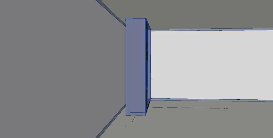 Armarios de muebles royalty-free modelo 3d - Preview no. 4