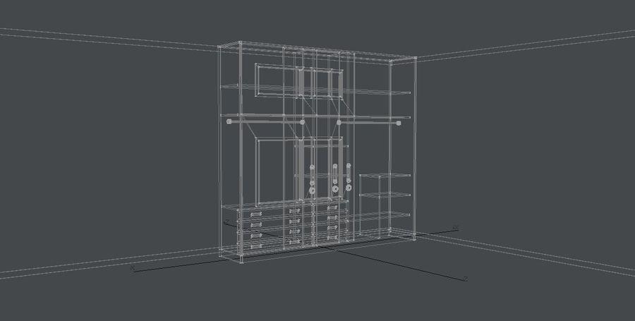 Armarios de muebles royalty-free modelo 3d - Preview no. 3