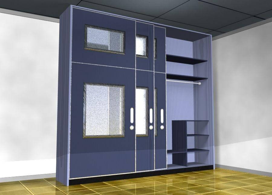 Armarios de muebles royalty-free modelo 3d - Preview no. 1