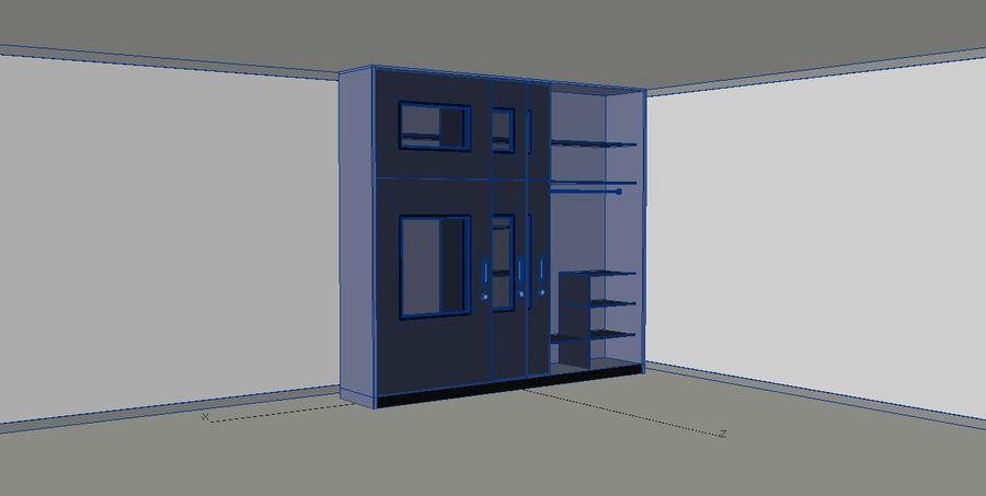 Armarios de muebles royalty-free modelo 3d - Preview no. 2