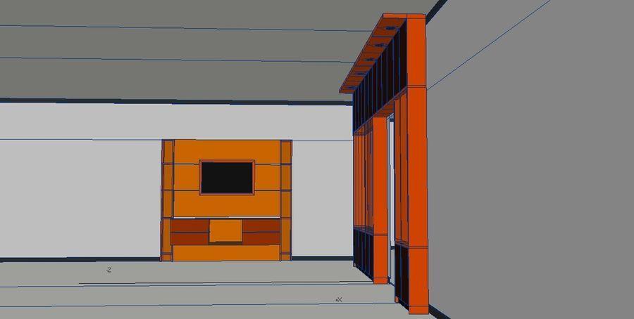 Muebles de mesa gabinetes royalty-free modelo 3d - Preview no. 4