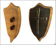 Mittelalterliches Schild 3d model