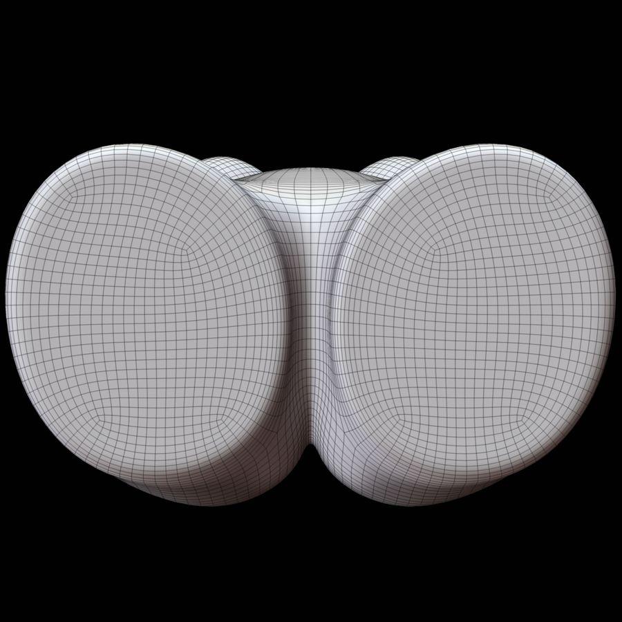 Manekin kobiecego ciała royalty-free 3d model - Preview no. 20