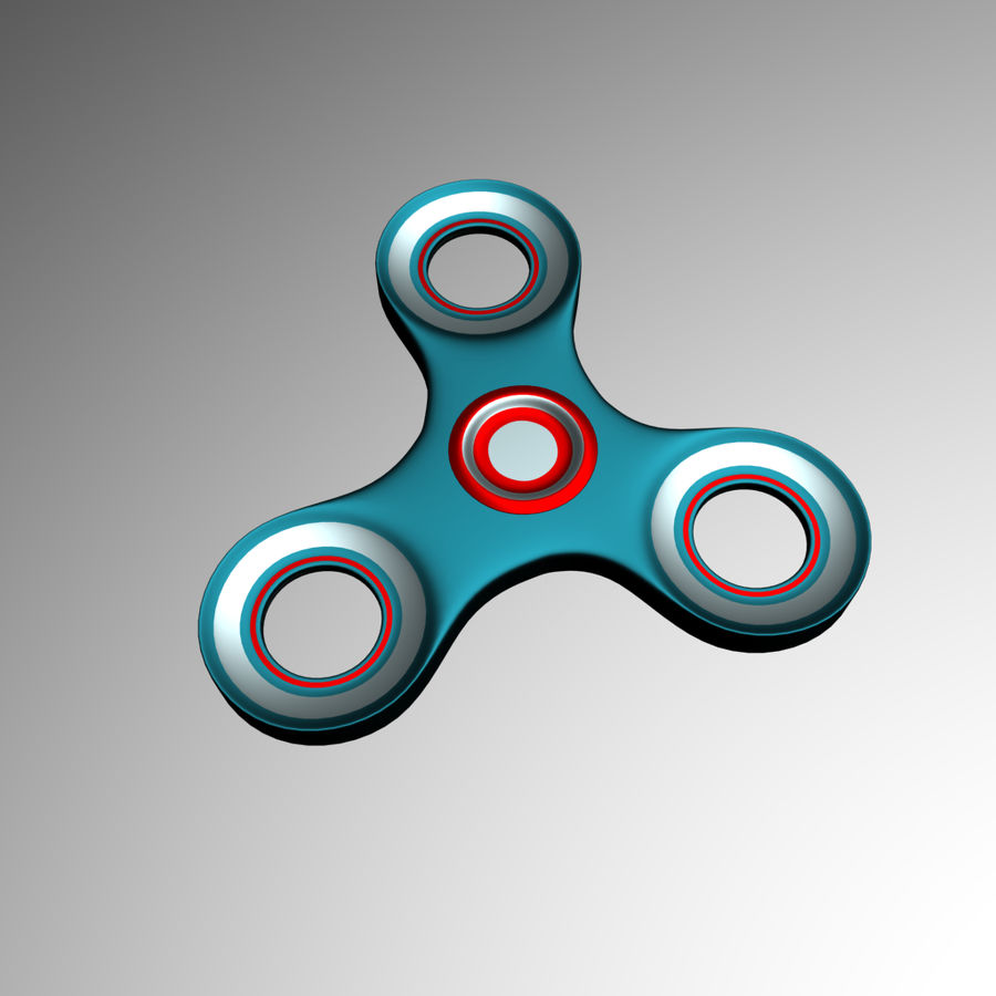 High Poly Spinner royalty-free 3d model - Preview no. 6