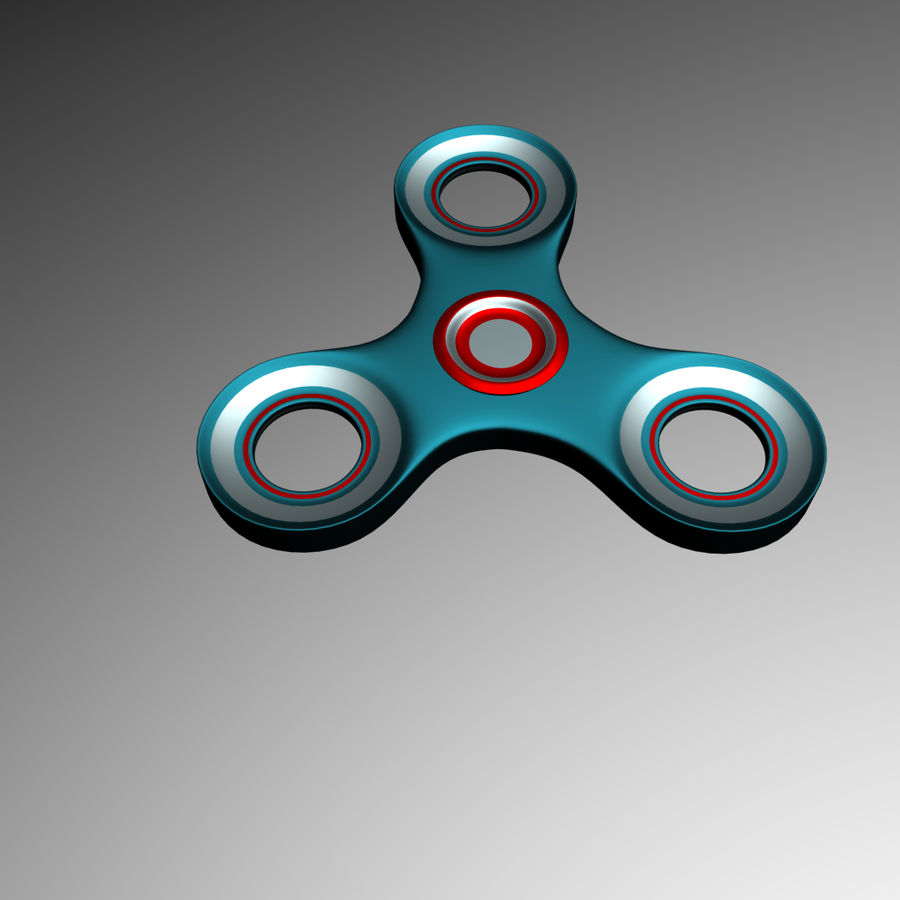 High Poly Spinner royalty-free 3d model - Preview no. 4