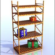 木材棚 3d model