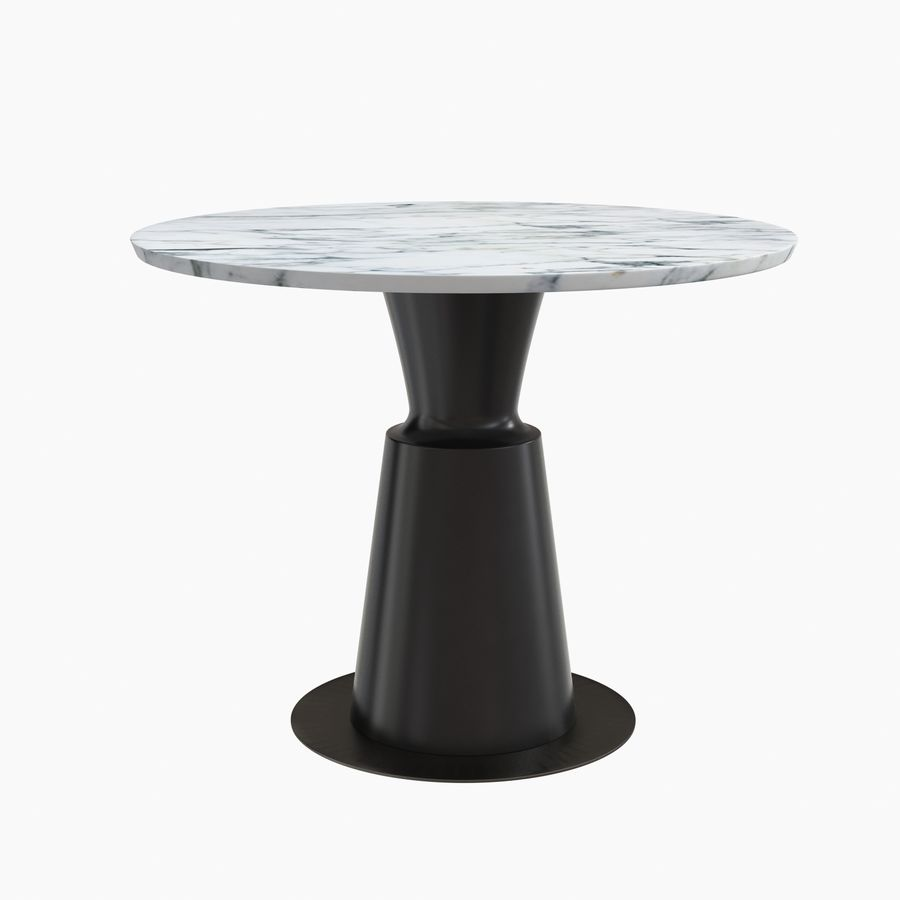 Peso Dining Table PES0-DT-ST Holly Hunt royalty-free 3d model - Preview no. 2