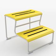 IKEA Glotten - step stool 3d model