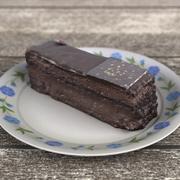Реалистичный шоколадный торт с низким содержанием поли 3d model