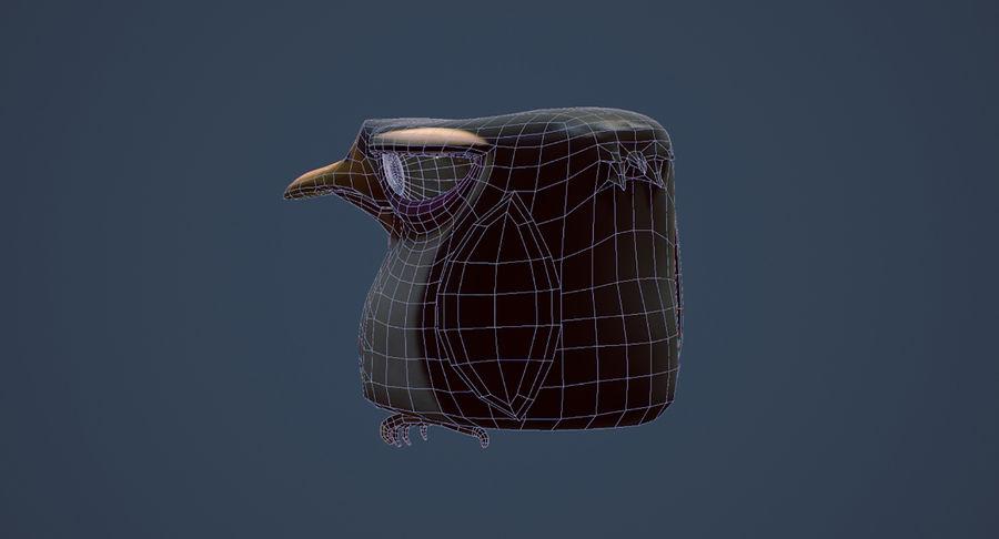 Pinguino royalty-free 3d model - Preview no. 9