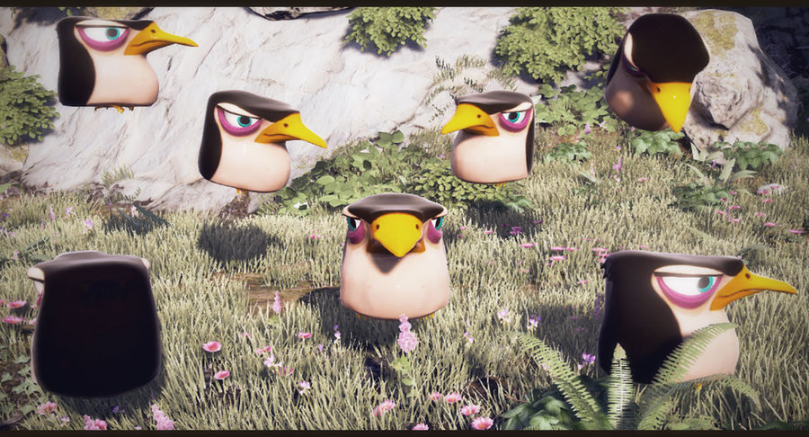 Pinguino royalty-free 3d model - Preview no. 7