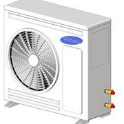 REVIT - A / C 6kW Kondenser RC060DHXEA 3d model