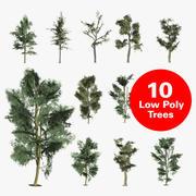 деревья 3d model