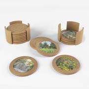 Wood Coaster 3d model