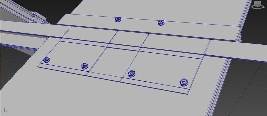Дизайн стола royalty-free 3d model - Preview no. 10