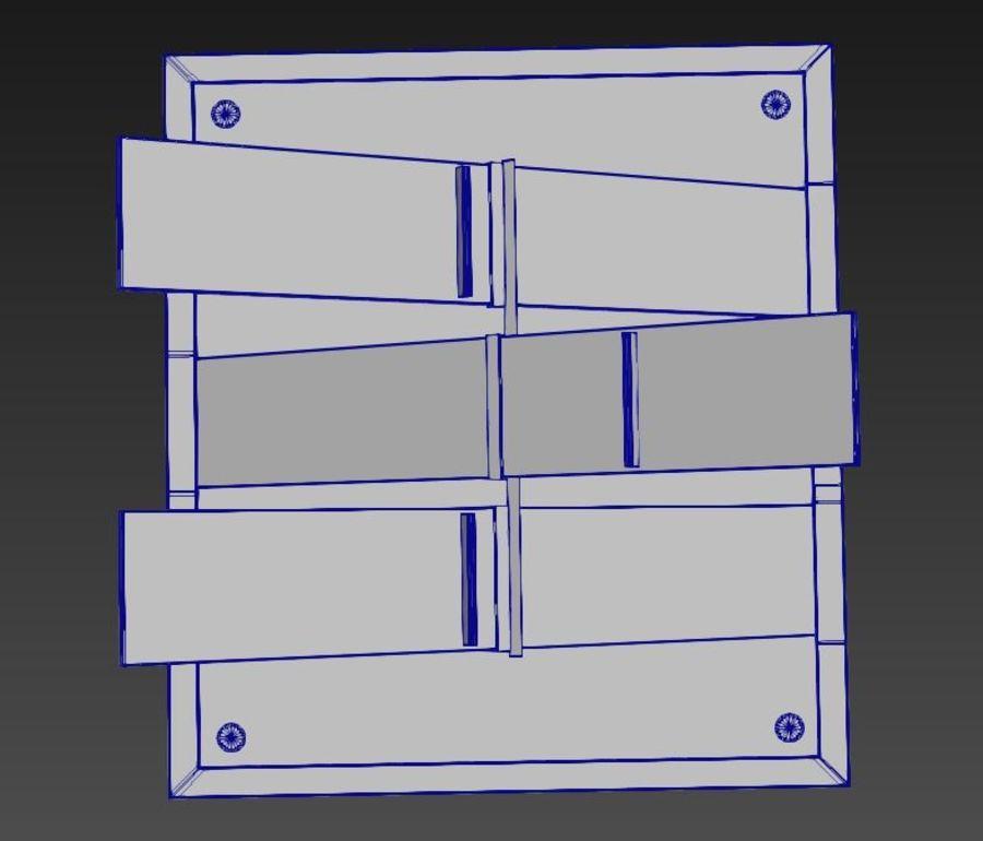 Дизайн стола royalty-free 3d model - Preview no. 11