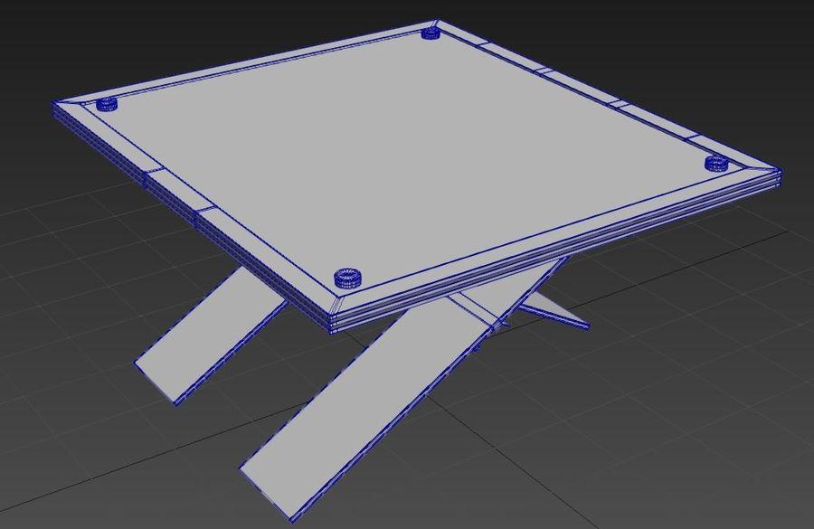 Дизайн стола royalty-free 3d model - Preview no. 12