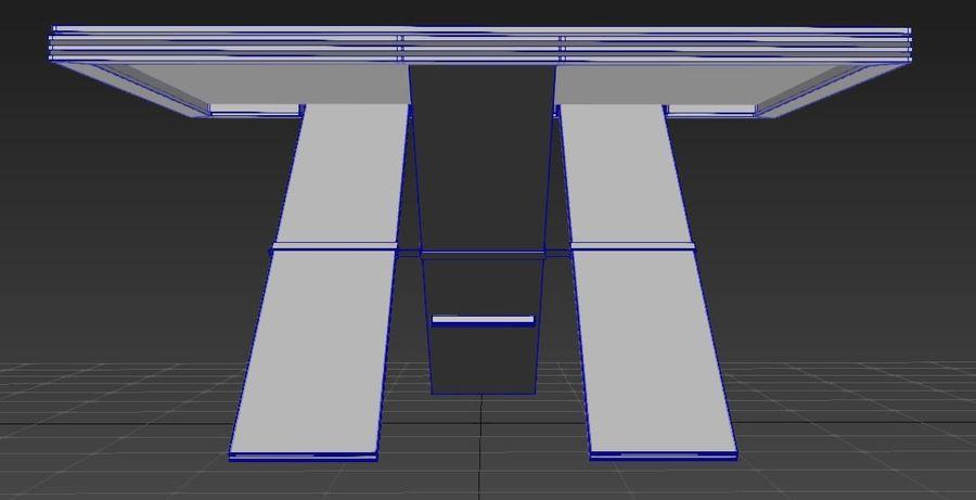 Дизайн стола royalty-free 3d model - Preview no. 13