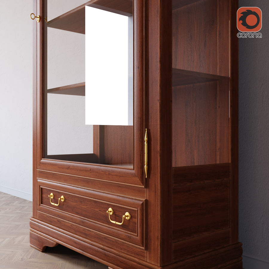 Selva Louis Philippe 7084 royalty-free 3d model - Preview no. 2