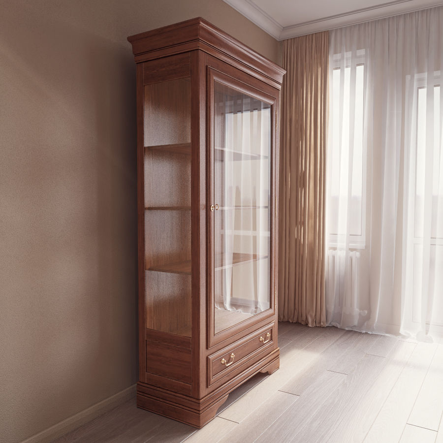 Selva Louis Philippe 7084 royalty-free 3d model - Preview no. 4