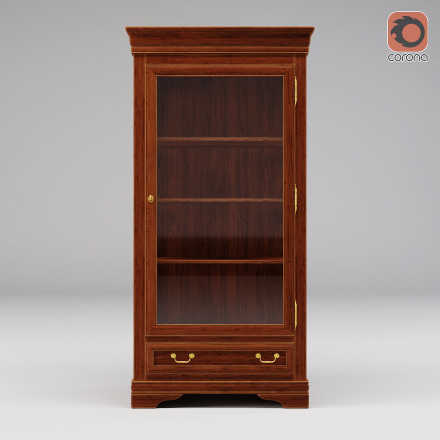 Selva Louis Philippe 7084 royalty-free 3d model - Preview no. 8