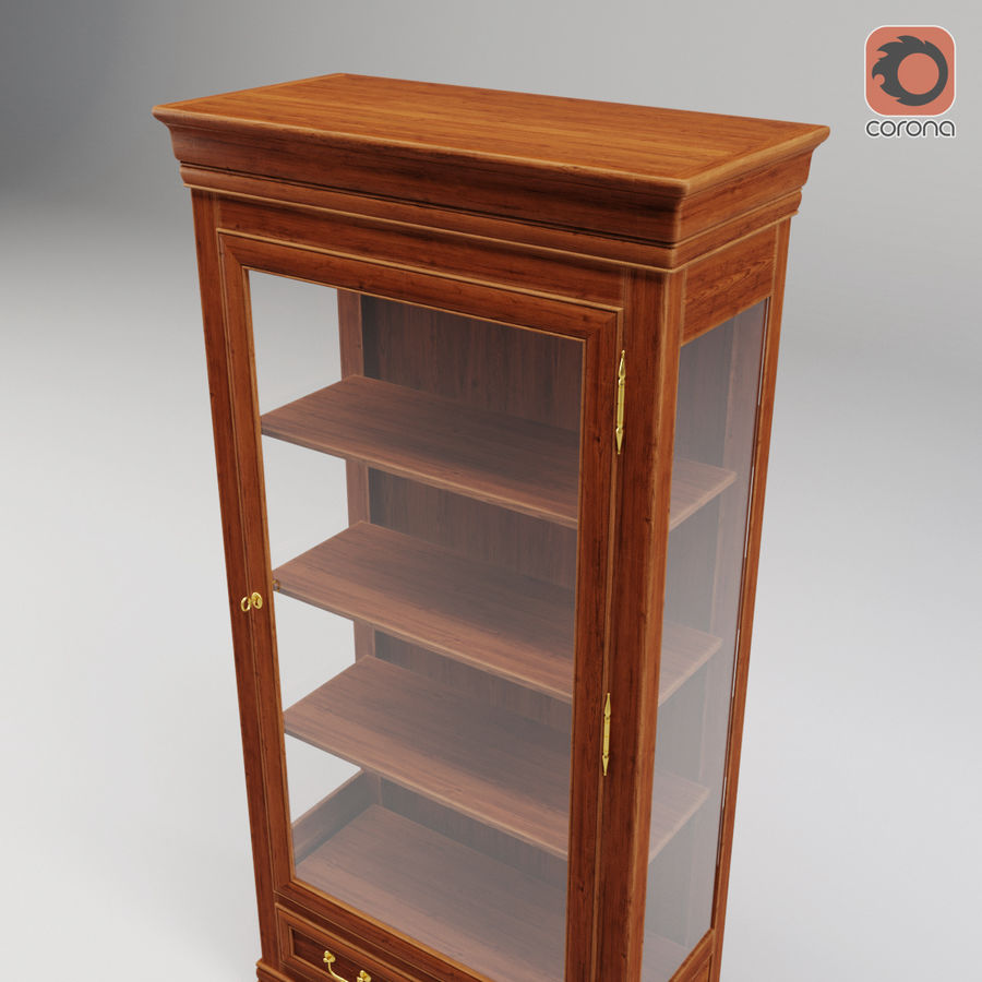 Selva Louis Philippe 7084 royalty-free 3d model - Preview no. 10