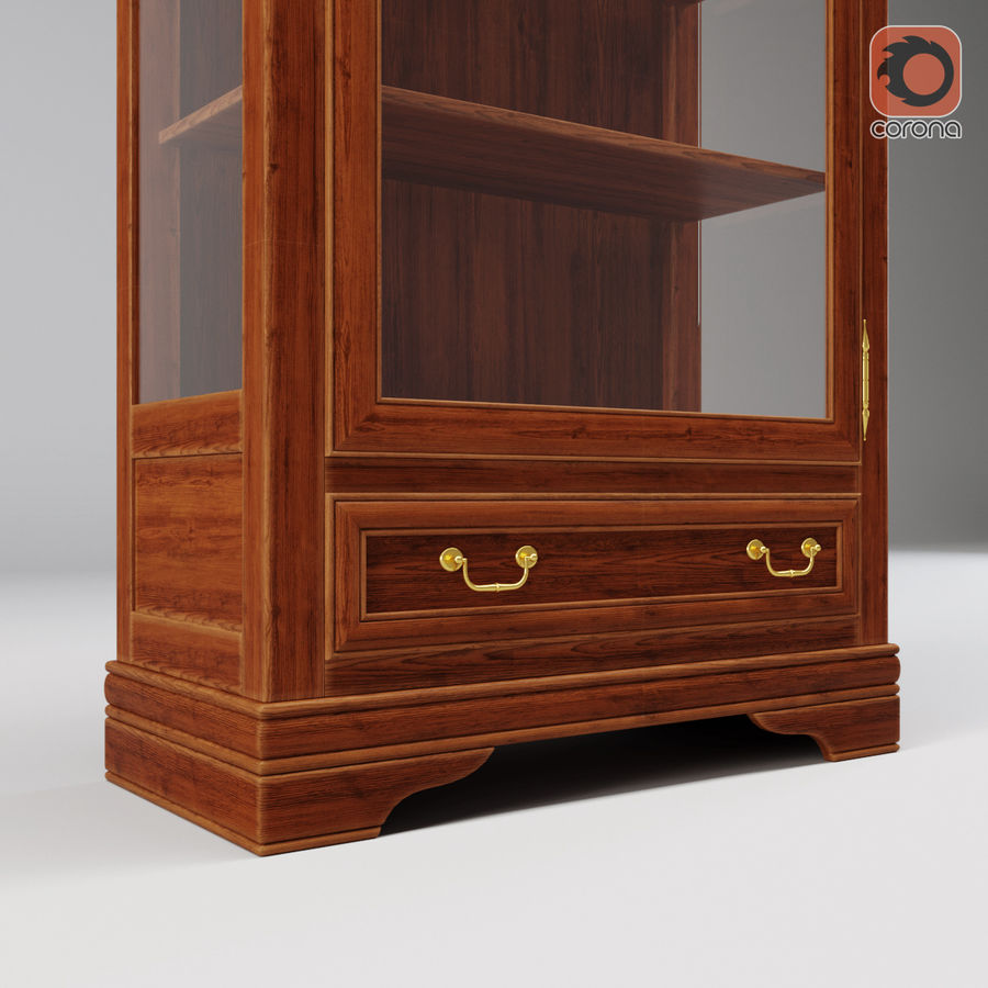 Selva Louis Philippe 7084 royalty-free 3d model - Preview no. 9