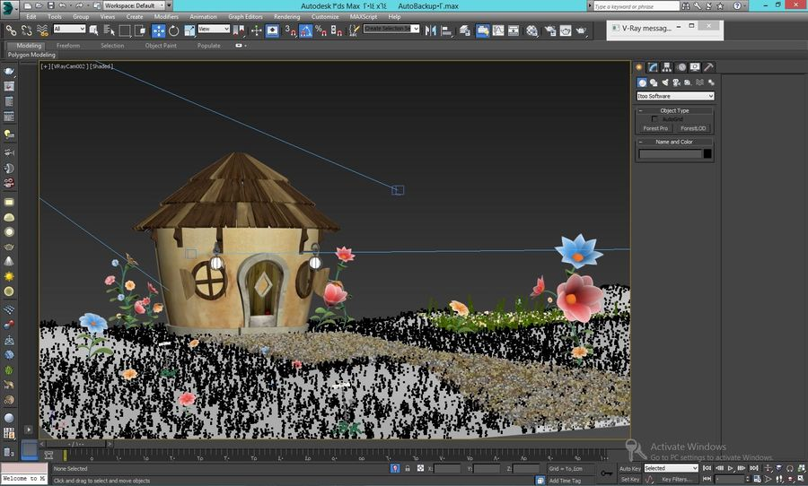 stylized  environment royalty-free 3d model - Preview no. 2