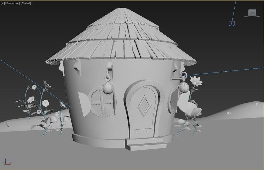 stylized  environment royalty-free 3d model - Preview no. 4